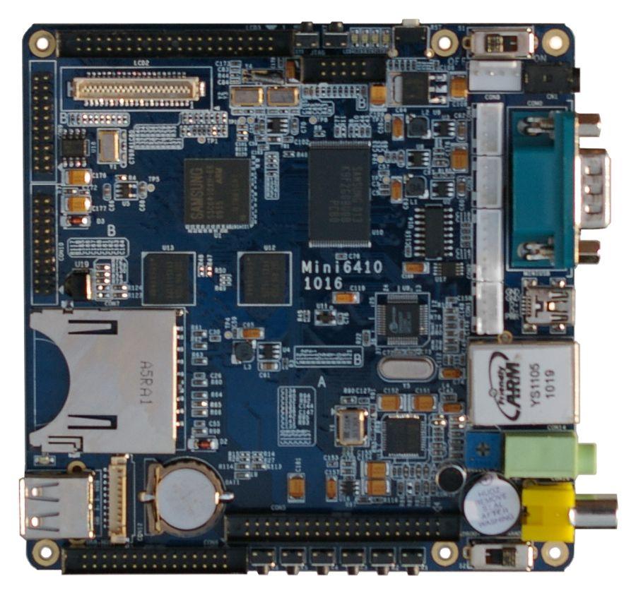 Mini6410on Arm Jtag 20 Pin Connector